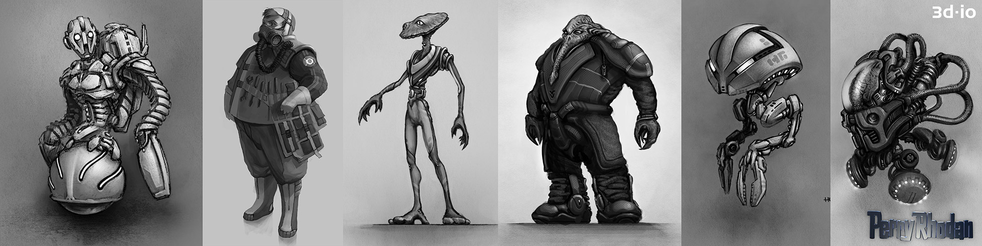 3d-io perry rhodan characters concept