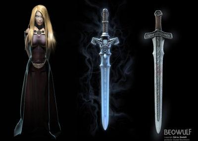 3d-io beowulf fea swords