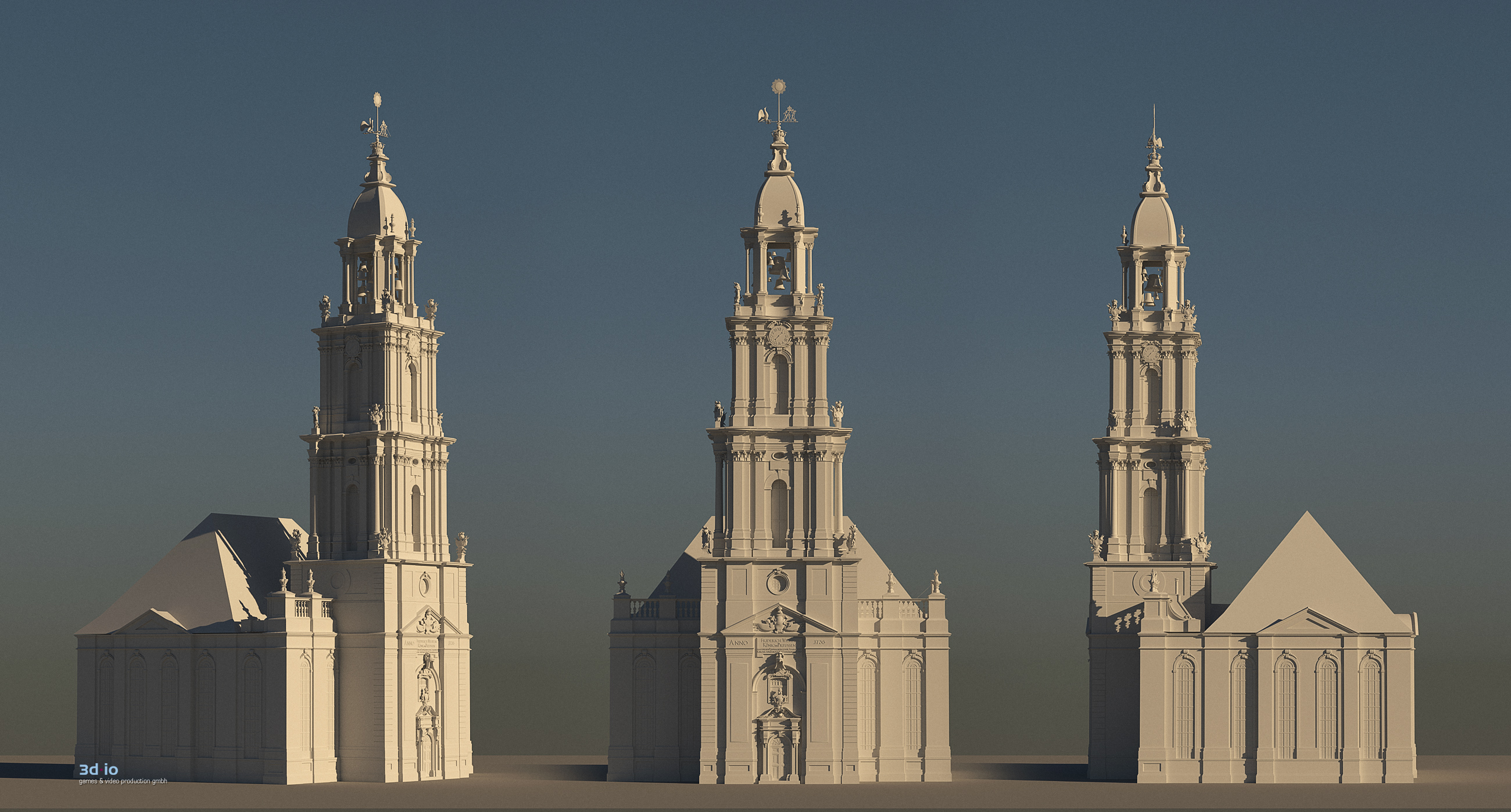 3d-io Garnisonkirche 3d construction