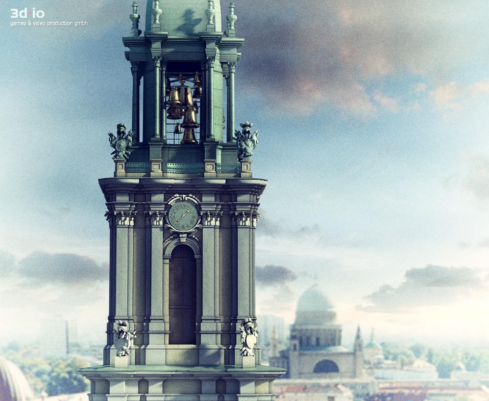 Garnisonkirche Potsdam – 3D Video of Reconstruction | 3d-io
