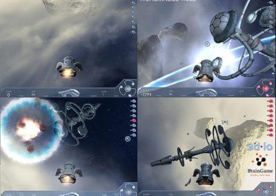 3d-io stern spiel ruhemasse null space shooter