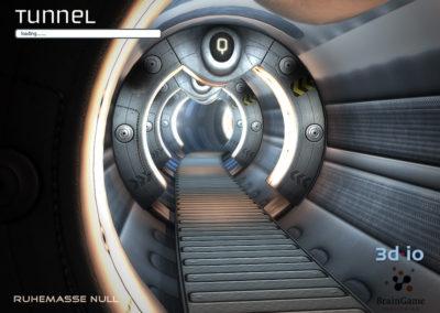3d-io stern spiel ruhemasse null tunnel