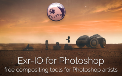 Exr-IO Photoshop plugin released!